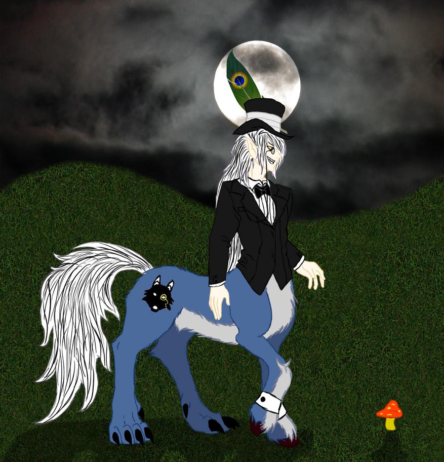 Werecentaur Sir by KiraNightViolet