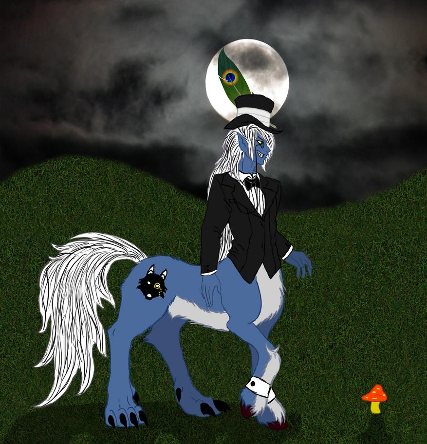 Werecentaur Sir2 by KiraNightViolet