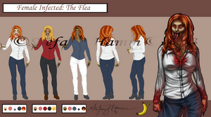 Female Infected - The Flea