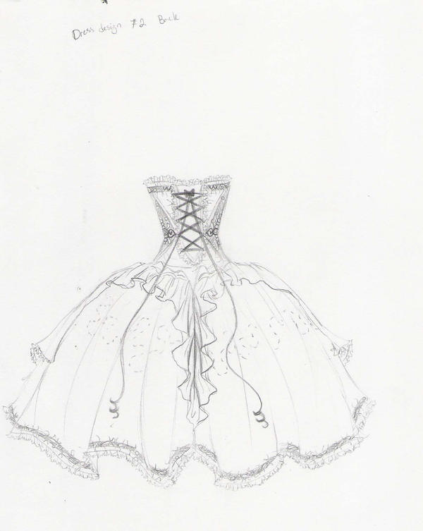 dress design number 2 :back by iwuvchibi