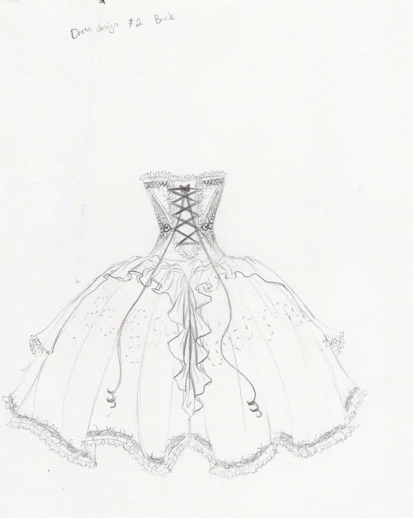 dress design number 2 :back by iwuvchibi