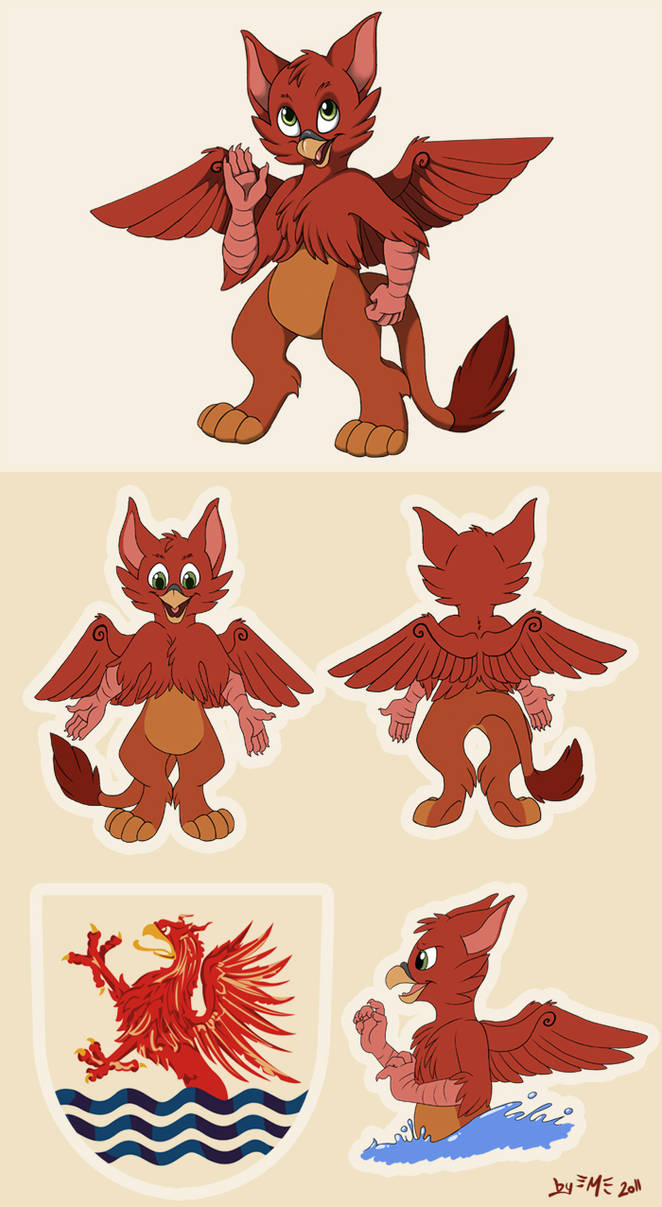 Amber the Gryphon