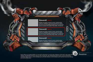 World elite sub page DEMO by alienwang