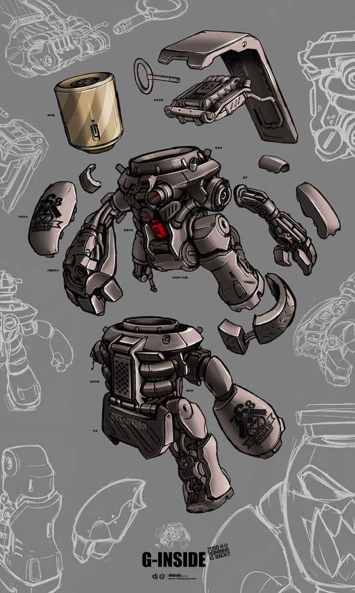 G-robot concept by alienwang