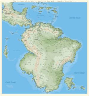 Meridia (South America) in 2016   Earth 98