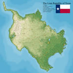 What if Texas was an island?