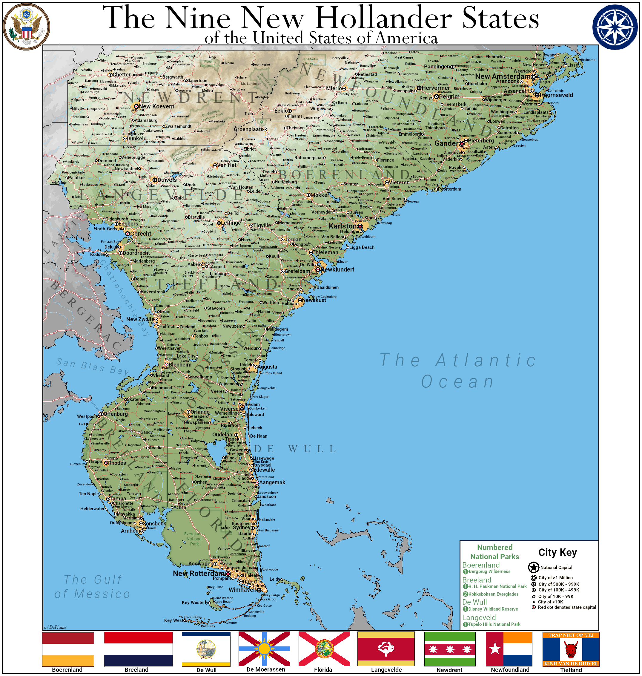 The New Hollander States | Earth 98