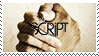 The Script Stamp by o-Dawn-o