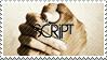 The Script Stamp by o-Dawn-o