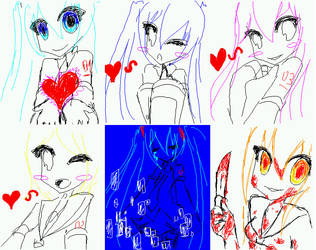 My doodles by miki0101