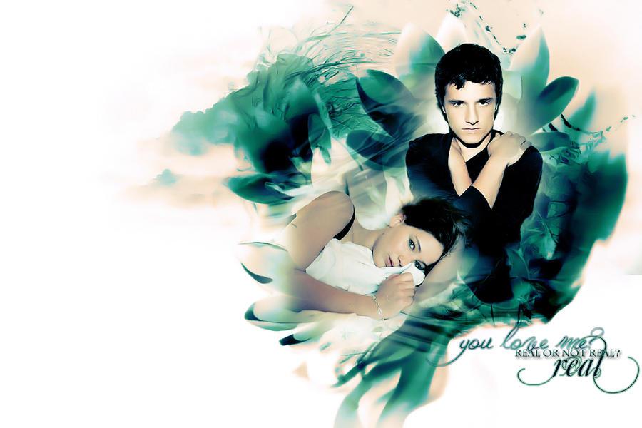 Katniss + Peeta - Real? by ParalyzingLove on DeviantArt  Katniss And Peeta Fan Art Love
