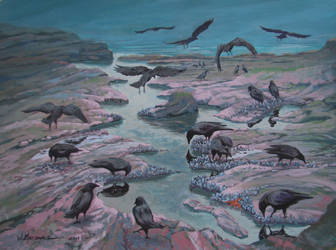 Murder at Low Tide by Caddisman