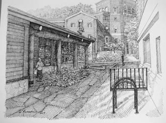 Longhouse by Caddisman