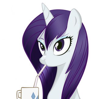 Rarity - I Like Her Mane