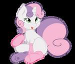 Sweetie Belle - Do you like my socks?