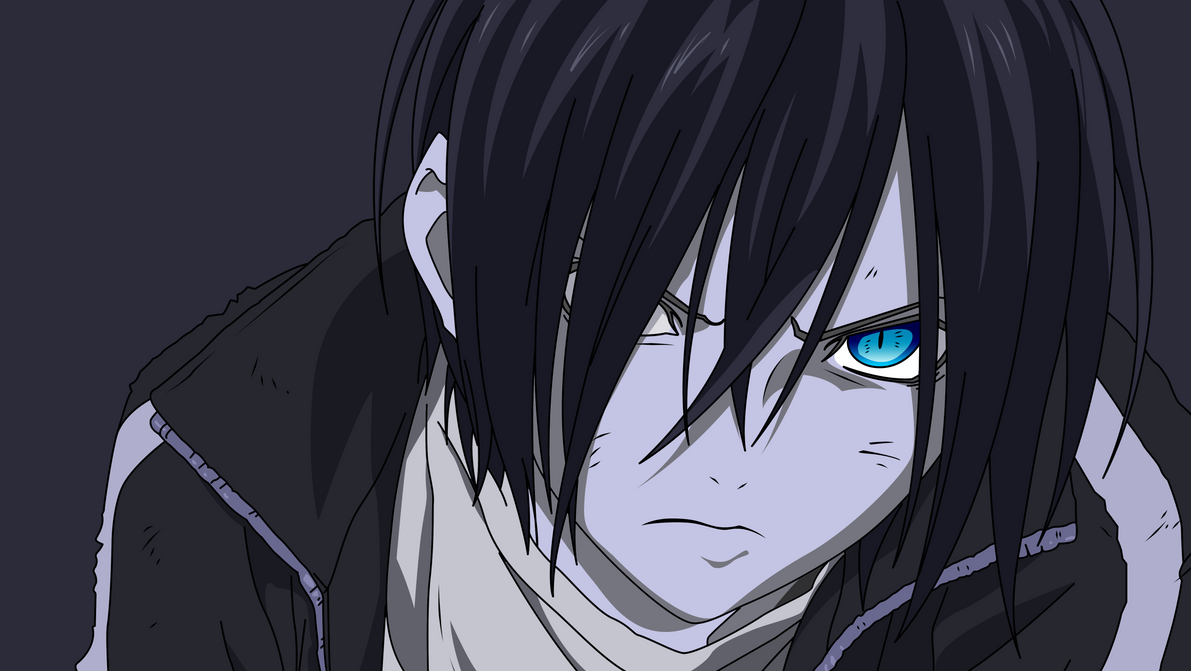Noragami Yato Vector by AB-Anarchy