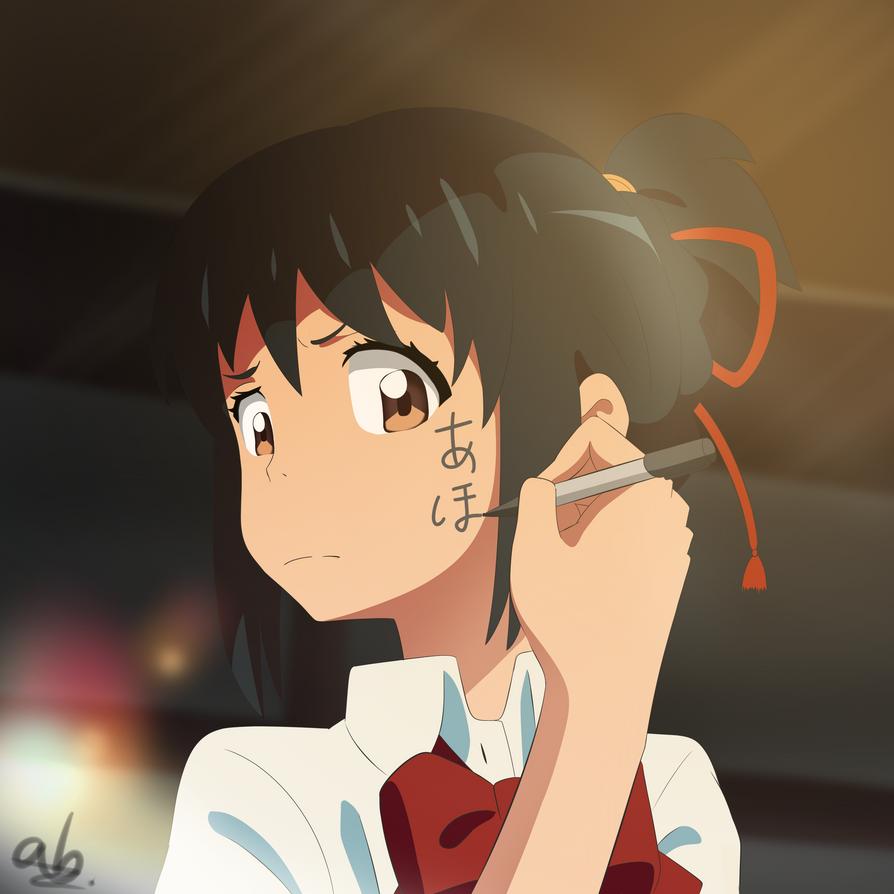 Kimi no Na wa - Mitsuha by AB-Anarchy