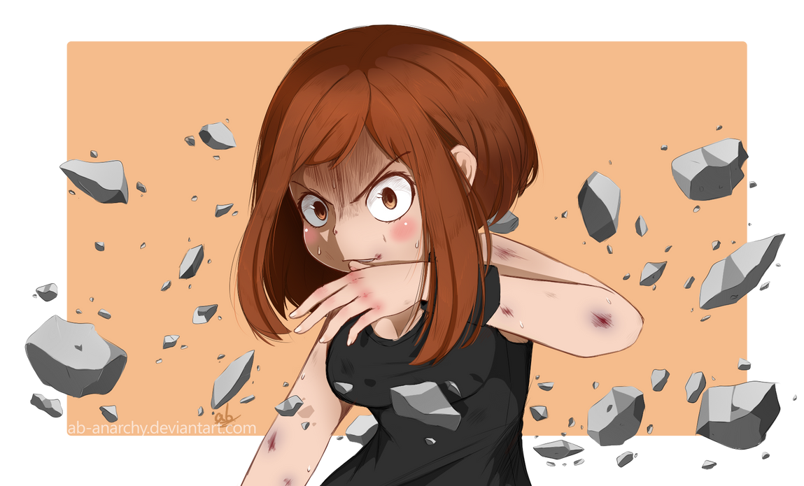 BHA - Uraraka Ochaco by AB-Anarchy