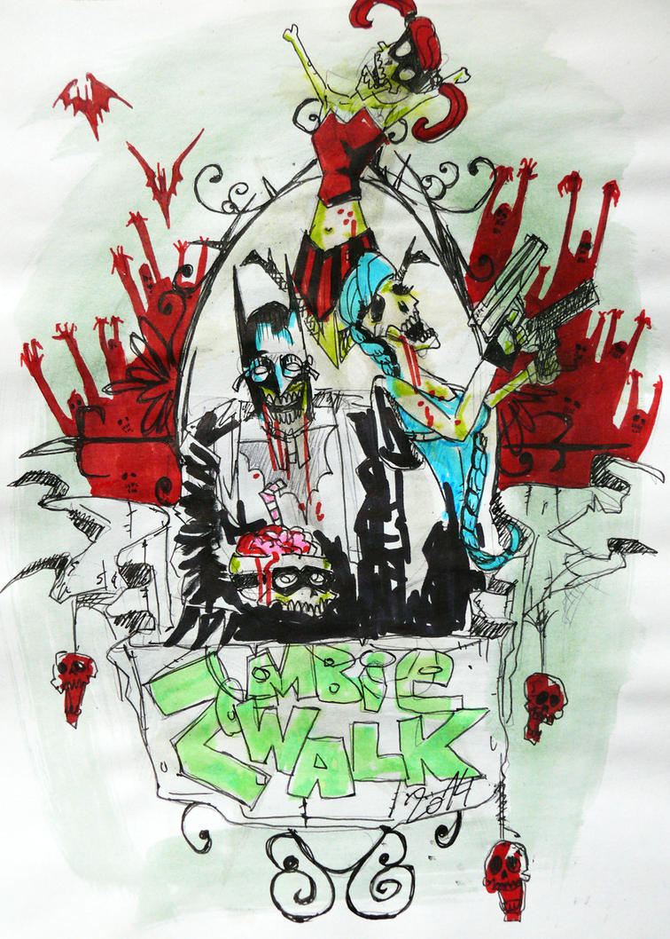 zombie walk should be everyday to by NIESAMOWITY