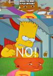 Bart Simpson said no to Little Bill