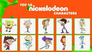 My Top 10 Nickelodeon Characters