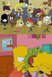 Loud Sisters Made Bart And Lisa Fight