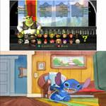 Stitch playing Shrek Super Slam