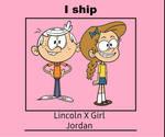 I Ship Lincoln X Girl Jordan