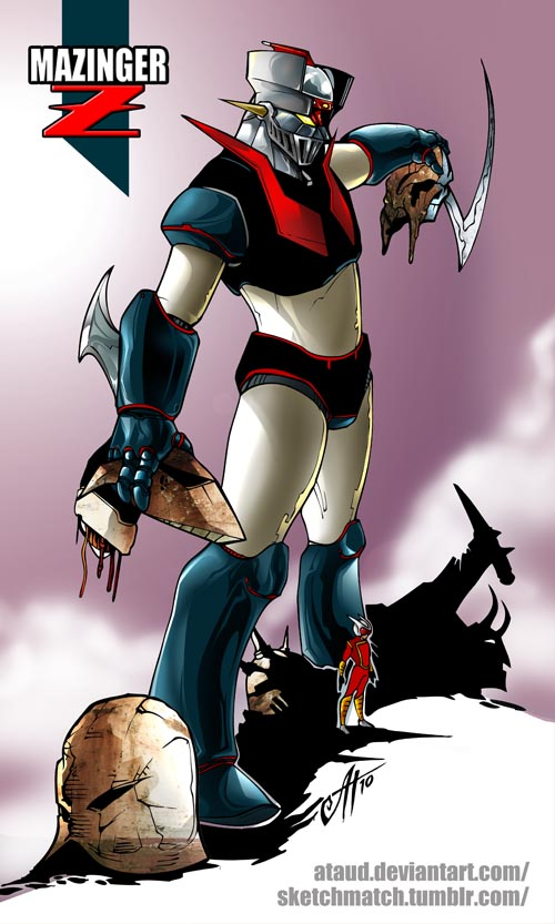 Mazinger Z SketchMatch by ataud