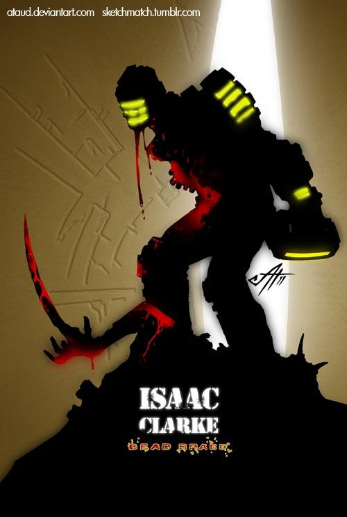 Isaac Clarke by ataud