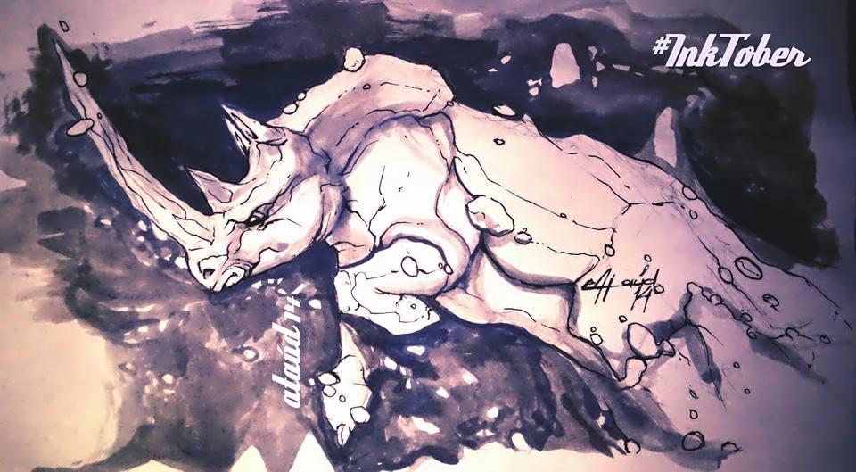 Rinoceronte Himalaya by ataud