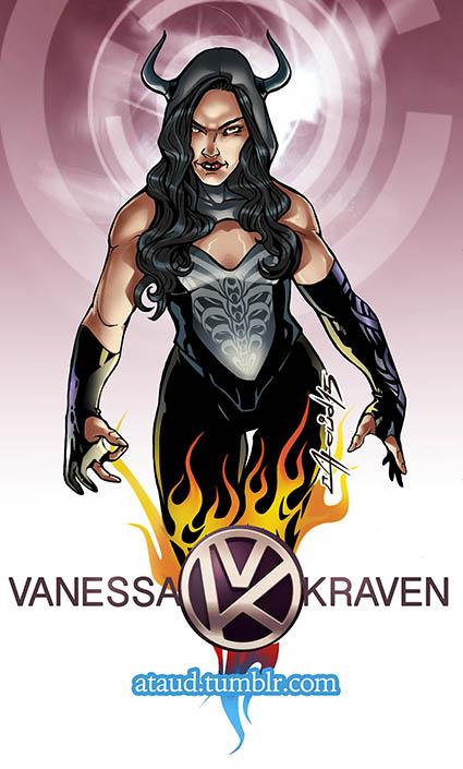 Vanessa Kraven by ataud