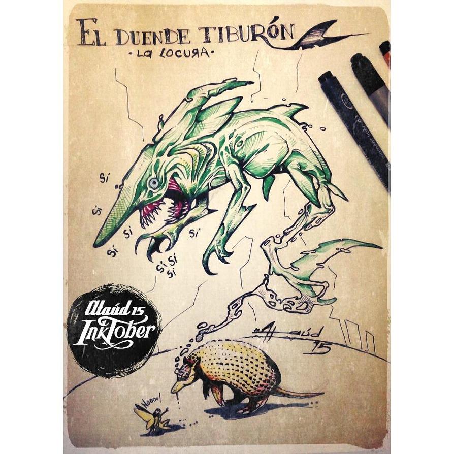 Tiburon Duende y los deseos del Armadillo by ataud