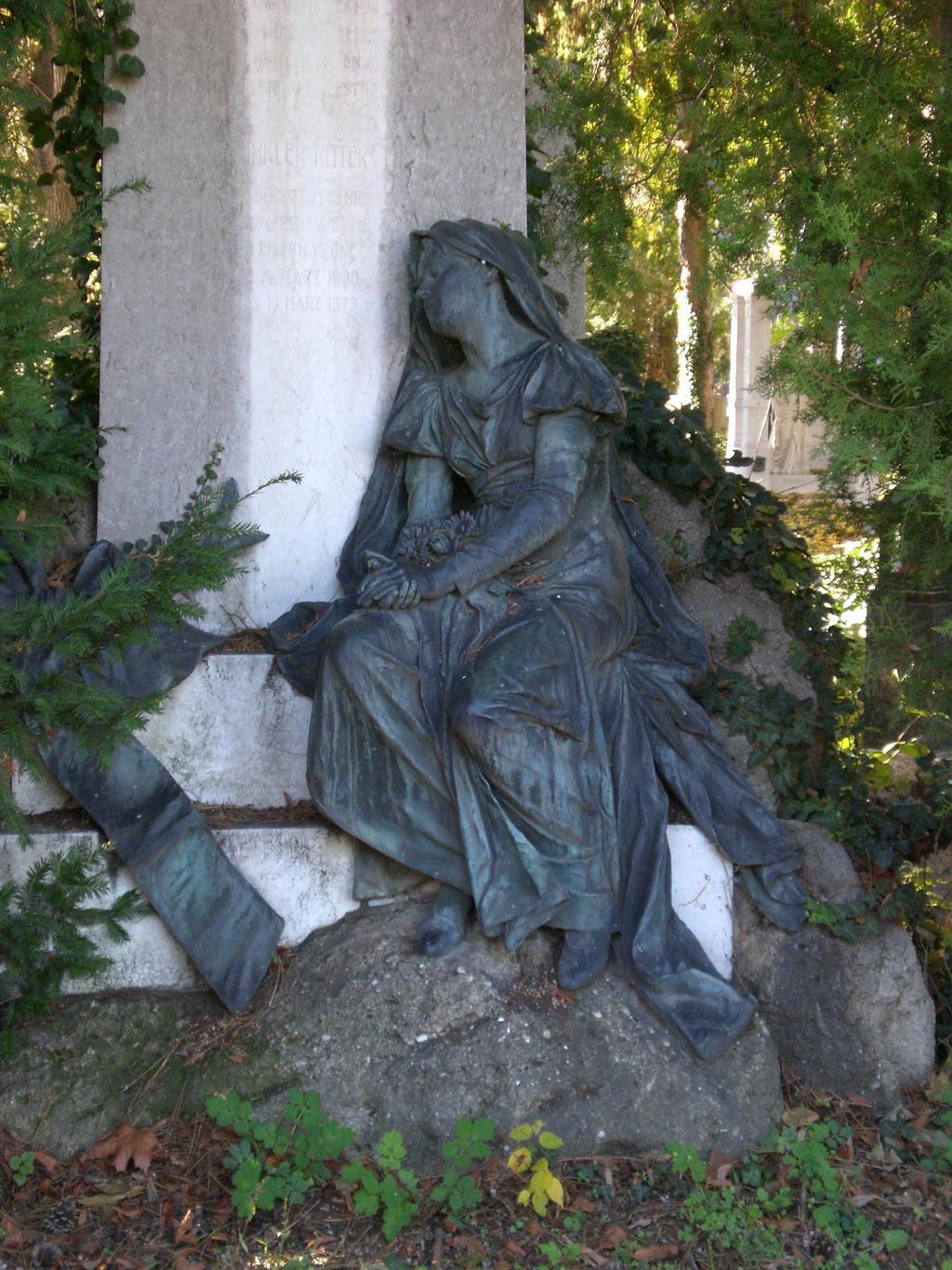 Wien Zentralfriedhof Statue