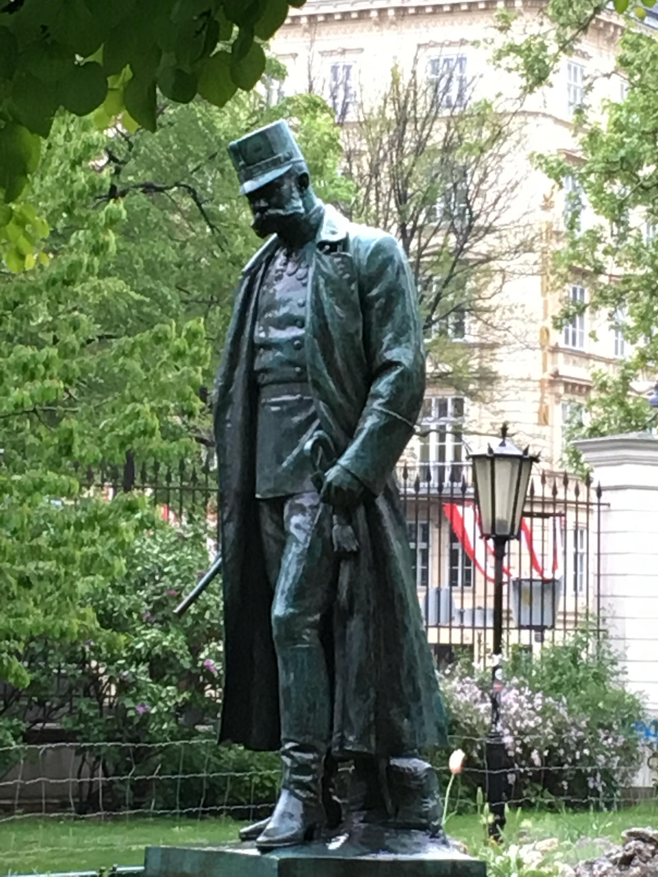 Statue of Kaiser Franz Joseph I of Austria