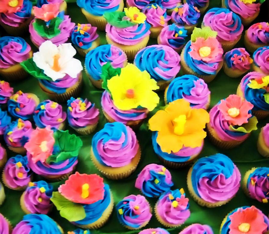 Cupcake Wallpaper: Rainbow Cupcakes By DarkMindsEye On DeviantArt