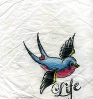 Life Swallow by aprenti