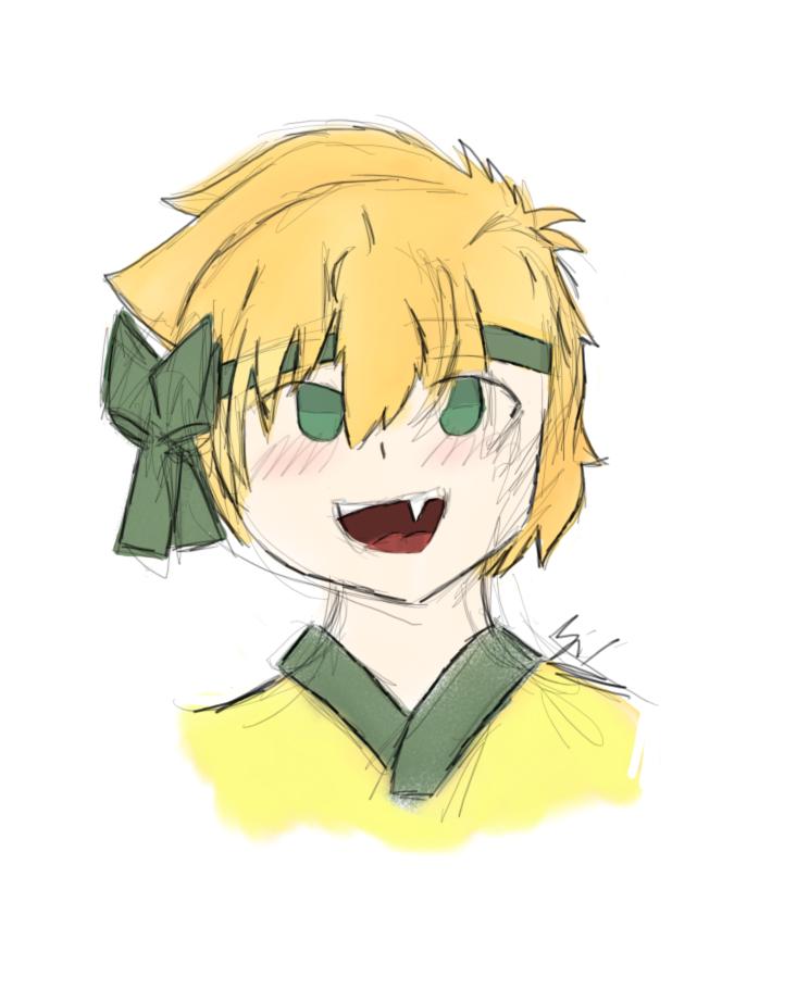 Yellow dragon ( Zeno ) by united-drawer
