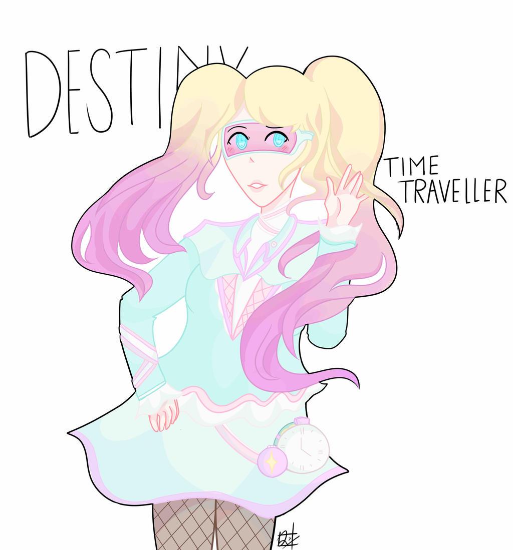OC: Destiny by united-drawer