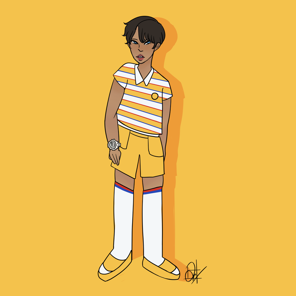 Yellow Vibes by united-drawer