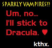 Sparkly vampires by Frontierx
