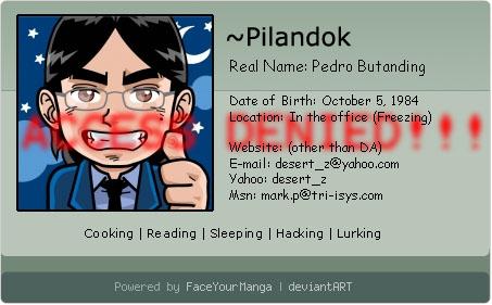 pilandok's Profile Picture