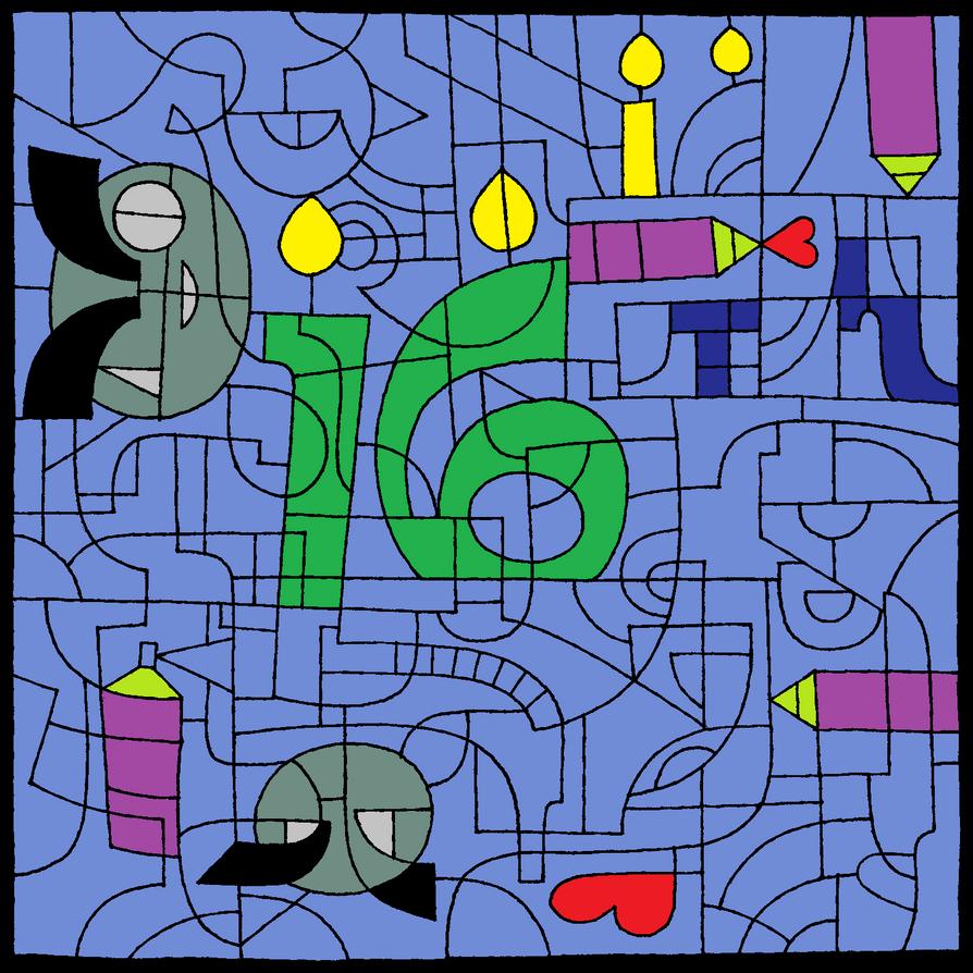 16th dayviant by pilandok