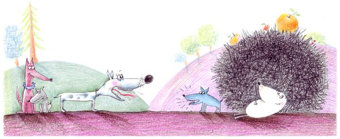 The hedgehog by stelladamaschin
