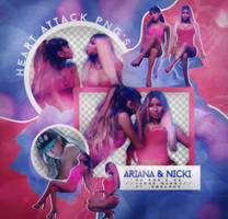 Pack png: Ariana x Nicki (Side to side) by JorgeMinaj