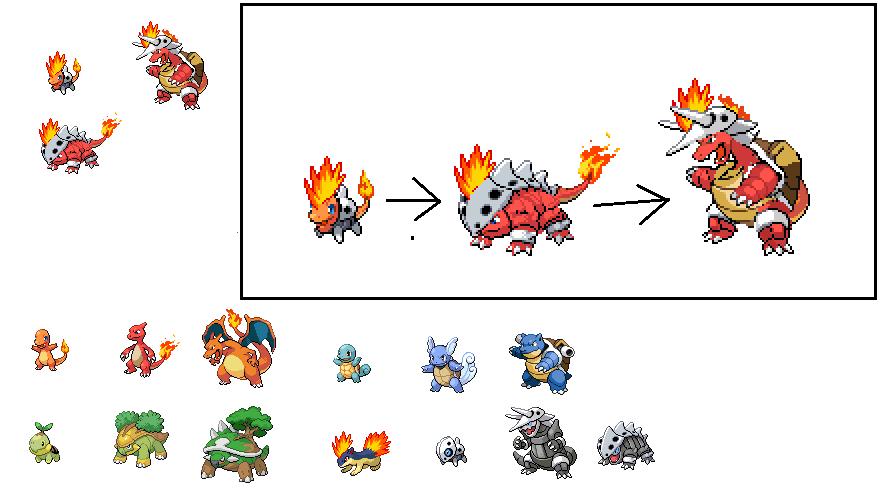 My Fire Starting Pokemon By Mij Hataki