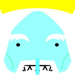 Square Face Icon Ice King By Xxlyssakatxx On Deviantart