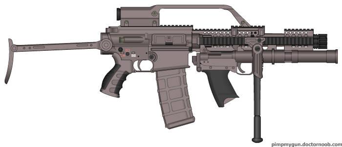 22 LR Microgun mk. 3 Grenadier Version
