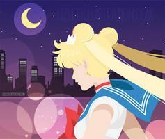 Fighting Evil by Moonlight - vector