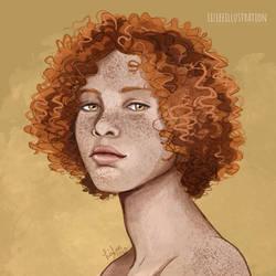 Curly Goddess